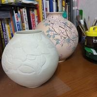 ノーマン陶芸放浪記 磁器丸壺の装飾