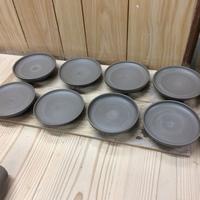 ワイドリムパスタ皿 & 絵付け用小皿の製作