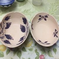 陶芸は化学か、職人さんの技は凄い。絵付け、3日目 楕円皿