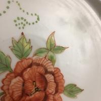 15cm磁器平皿 上絵付 耐酸性上絵具 ノーマン陶芸バカ日誌