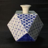 ここまで来たノーマンの陶芸 マルチフェイス花瓶本焼き
