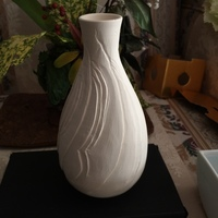 線彫り白磁花瓶の制作 ノーマン陶芸バカ日誌