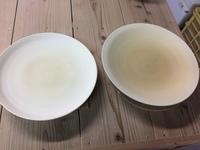 磁器尺皿の削り仕上げ こうすれば削れる磁器の削りの基本 ノーマン陶芸バカ日誌