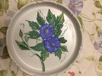 今日は上絵付 15cm飾り皿の洋絵具絵付け ノーマン陶芸バカ日誌
