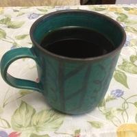 マグカップ製作 ターコイズブルーマグカップ本焼き