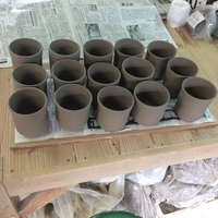 今日も陶芸日和 マグカップの制作と削り そのコツと裏技で見違えるような作品が多数