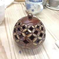 もう一つの職人技の作品紹介 透かし彫り香炉