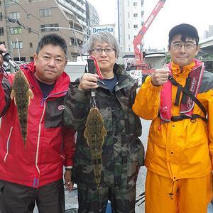 横浜でもマゴチ釣れます!