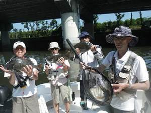 夏休み中の釣果情報
