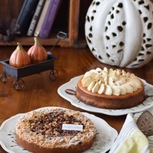 タルトとチーズケーキ