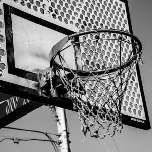 豊住公園のバスケットリング