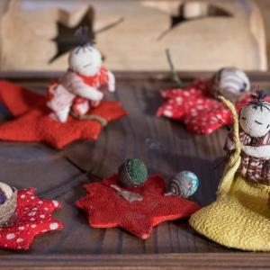 大田黒公園の季節の人形