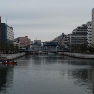 小名木川と大横川の交差点