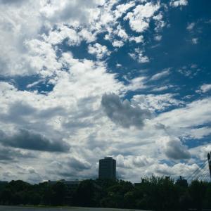 東京午後の空