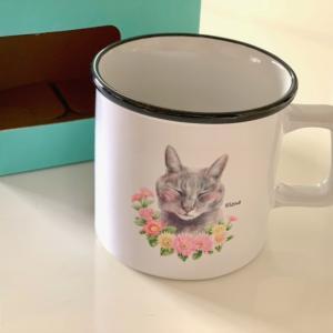 愛猫マグカップ