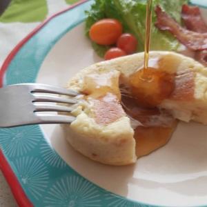 おしゃれ朝食が10分で☆簡単美味し!とろ~りパンプディング