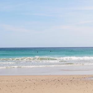 白浜海岸は最高♡