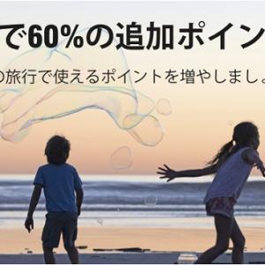【7/7まで】60%ボーナスキャンペーン中のマリオットポイントを期間限定でさらにお得に!