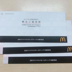 ♪株主優待☆日本マクドナルドホールディングス