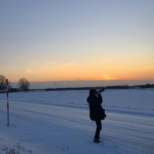 冬の東雲台地