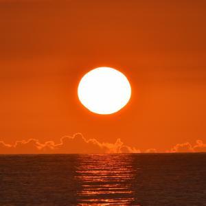 日本海の夕日Ⅱ