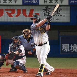 阪神、ボーアに続きサンズも満塁弾「信じられない」