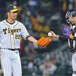 阪神は広島に敗れる…藤川が引退表明後初登板