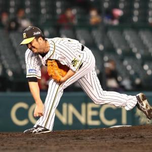 藤川、引退表明後初登板で無失点投球