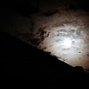 お月さまと白玉団子