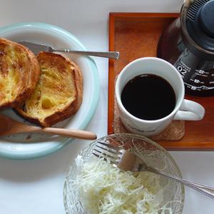 シンプルな今日の朝食