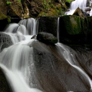 新緑萌ゆる羽鳥湖高原~立矢川の滝 ⑦