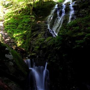 晩夏の大滝川渓谷と幻の大滝