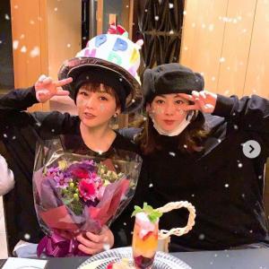 PUFFY・大貫亜美、46歳を迎えた吉村由美との最新2ショットwww