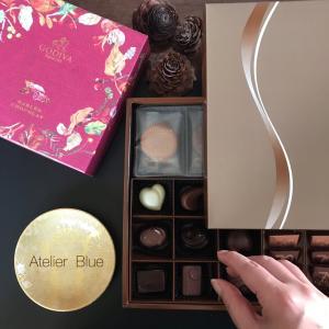 美味しいチョコ+金の小皿=幸せ