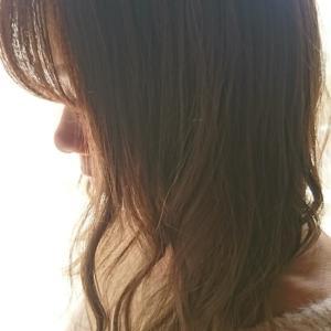 春、雨多し   うねる前髪
