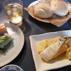 夏休みの夕食