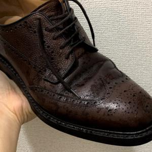 雨に濡れた革靴の正しい乾かし方とお手入れ方法【ずぶぬれ帰宅直後編】