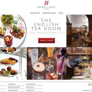 ブラウンズのアフタヌーン予約方法を解説【ロンドンの5つ星ホテルで最高のお茶を】