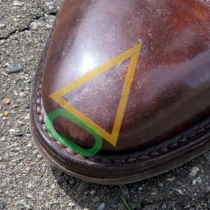 つま先をガリっとした革靴を綺麗に直した話。【トゥのセルフリペア】