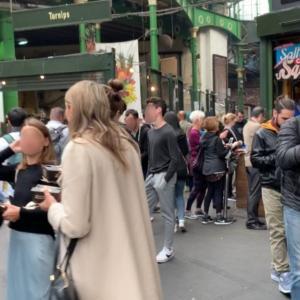 バラマーケットでデカイ牡蠣を堪能とリバティプリント探求の旅【親子でロンドン旅行3日目】