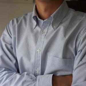 ブルックスブラザーズのボタンダウンシャツ(ミラノフィット)のサイズ感とコーディネート【MADE IN USA】