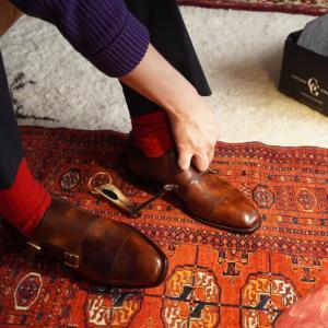 ガジアーノガーリングを友人と個人輸入した話。 靴好き仲間との開封の儀をご紹介!