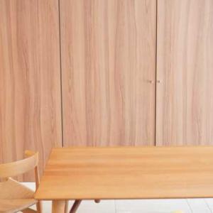 久しぶりにテーブルとMobler PP68のメンテ♡ピッカピカのツルツルになったわ