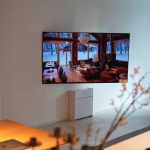 テレビの壁掛け完了&リビングのインテリア構想編VO.5