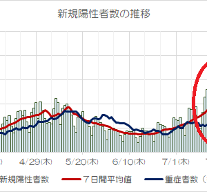 東京で「感染者が爆発的増加」?重症者は増えていない