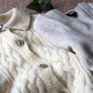 厚手のセーター、出してきた