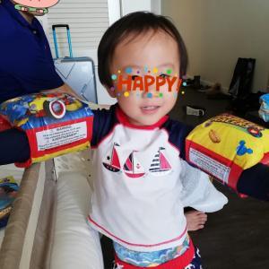 3歳0歳児連れのんびりグアム旅 その10 〜WORLDFAMOUSなディナー 笑〜