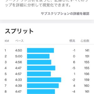 休日練習:10kmだけ頑張る!