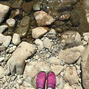 【レジャー】自然と遊ぶ!川遊びに行ってきました。