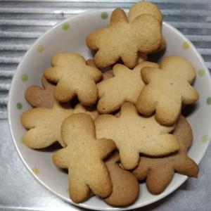 あこちゃんが「クッキー」を焼いてくれました。(。>∀<。)